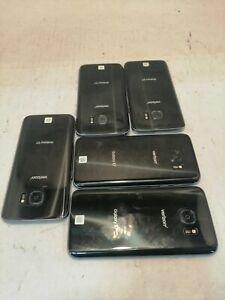 Lot of 5 Samsung Galaxy S7 Google locked.