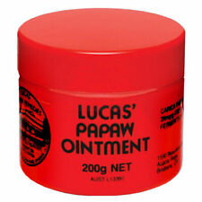 LUCAS PAPAW OINTMENT 200G PAW PAW CREAM CRACKED SKIN LIPS DRY LIPS CHAFING CUTS