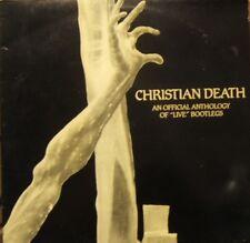 Christian Death Official Anthology of Live  UK LP