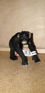 Schleich 14678 Chimpanzee Male (New with Tag) | Retired Animal Figure