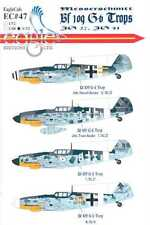 EagleCals Decals 1/32 MESSERSCHMITT Bf-109G-6 TROP Fighters