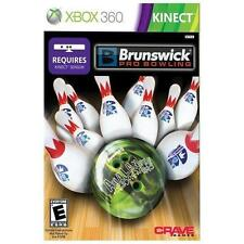 Brunswick Pro Bowling XBOX 360 KINECT! PIN, STRIKE, FUN FAMILY GAME NIGHT PARTY!