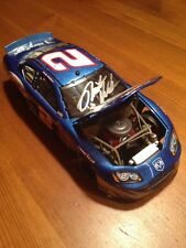 Autographed Rusty Wallace NASCAR