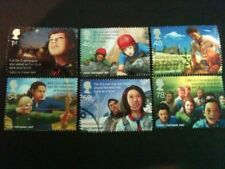 QE2 2007 FU SG 2758/63 WORLD SCOUT JAMBOREE STAMPS  SET