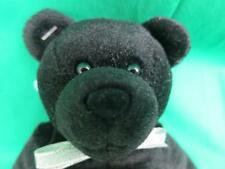 New Bless This Bike Motorcycle Holly Bear Black Bean Bag Mascot Plush Bible Toy