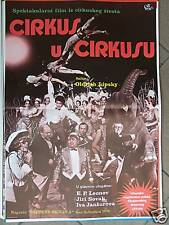 CIRKUS V CIRKUSE-OLDRICH LIPSKY-YUGO MOVIE POSTER 1976