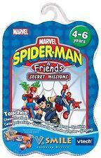 V.Smile Spider-Man and Friends Secret Missions Smartridge NEW SEALED Vtech