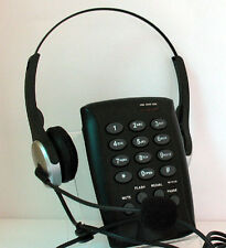 CallTel Headset Feature Telephone with MUTE Redial Volume Control & Flash Button