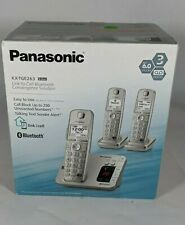 Panasonic KX-TGE263 Bluetooth Capable Wireless Phone System with 3 Phones