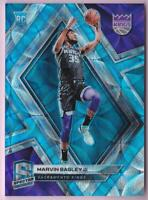 MARVIN BAGLEY JR. RC 2018-19 SPECTRA NEON BLUE PRIZM #48/75 KINGS ROOKIE