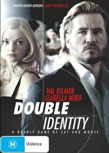 Double Identity DVD THRILLER Val Kilmer Movie - R4 AUST