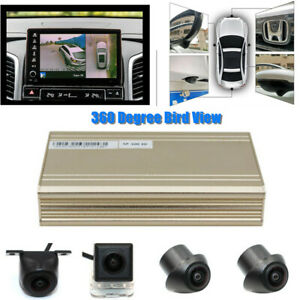 Universal 360° View System Car Record Panoramic View All Round Camera System Kit