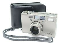 CONTAX T3 Silver DATA BACK 35mm Point & Shoot Camera