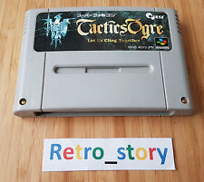 Super Famicom Tactics Ogre JAP