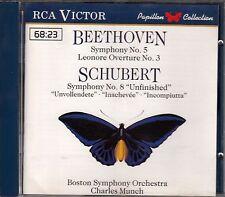 CD ALBUM BEETHOVEN (SYMPHONIE N° 5) / SCHUBERT (SYMPHONIE N° 8)