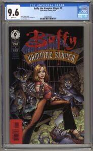 Buffy the Vampire Slayer #1 1st Printing CGC 9.6 Arthur Adams Cover (1998)