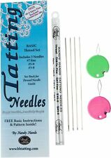 Handy Hands 3-Piece Tatting Needles Set for Thread