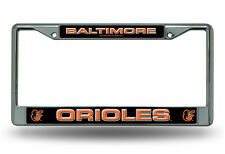 Baltimore Orioles Metal Chrome License Plate Frame Auto Truck Car MLB