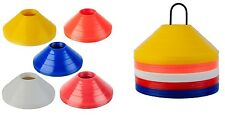 Sport Saucer Marker Cones Disc Cone Sets 50 Multi Color With Free Carry Bag