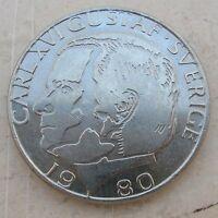 1 Kr di Svezia 1980 Carlo Gustavo XVI -  n  985
