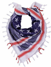 USA Patriotic American Flag Tactical Shemagh Desert Scarf