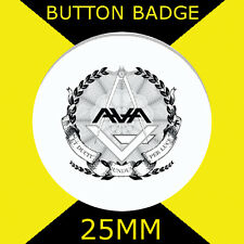 "ANGELS AND AIRWAVES - LOGO-BUTTON BADGE 25MM/1"" D PIN GREAT GIFT FOR FAN #CD34"