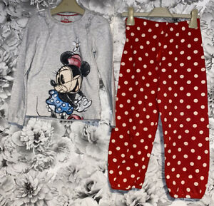 Girls Age 5-6 Years - M&S Minnie Mouse Pyjamas