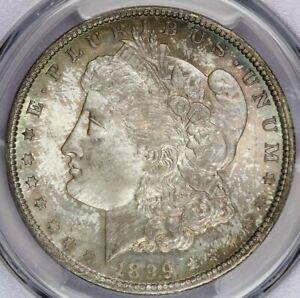 1899-O 1899 Morgan Dollar PCGS MS66+ CAC Beautiful color!