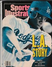 Sports Illustrated March 4,1991 LA Story Darryl Strawberry On Cover