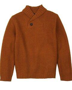 Boboli Boys Shawl Collar Pullover, Sizes 4-16
