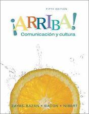 ¡Arriba!: Comunicación y cultura Student Edition (5th Edition) Zayas-Baz