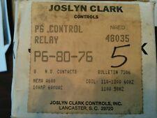 P6-80-76 JOSLYN CLARK CONTROL RELAY