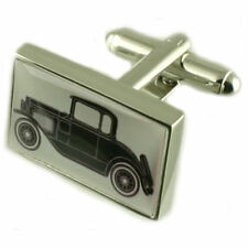 Classic Model Car T4 Driver Cufflinks With Pouch