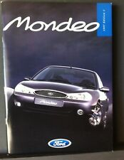 FORD MONDEO Range Catalogue 1997 Edition 1 - Including the ST24 version.