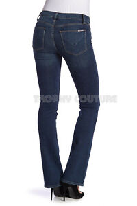 NEW HUDSON JEANS $189 LOVE MID RISE BOOTCUT JEANS IN HASH SZ 32