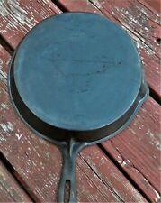 Vintage Fancy Handle No. 8 Gate Mark Cast Iron Skillet Single Spout