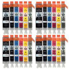 24 Ink Cartridges (Set) for Canon Pixma TS8050 TS8051 TS8052 TS8053