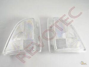 1994-1997 GMC Sonoma Sealed Beam Corner Signal Marker Lights Lamps RH + LH