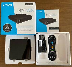 TiVo MINI VOX ~ 4K UHD ~ Lifetime Service ~ TCDA95000 ~ With Voice Remote