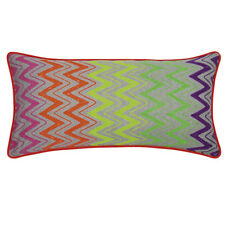 Lina Neon Retro Cushion with INSERT 35x70cm RRP $68.95 AUS Seller & Stock