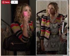 Hanna Marin Bcbg Jacket, Lace Dress, Necklace Pll