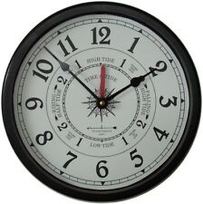 """9 1/2"""" Tide/Time Clock By West & Co."""