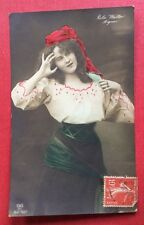 CPA. Artiste RETA WALTER. Mignon. 1908.