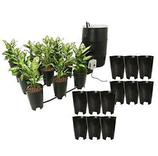 Active Aqua Grow Flow Ebb & Gro 12 Site Hydroponic Sytem + (12) Expansion Pots