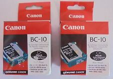 2x Canon bc-10 bc10 0905a002 tête d'impression Lentille bj-30 bjc-50 70 80 bn700 NEUF