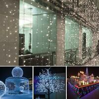 200 LED Solar Fairy String Light Xmas Wedding Party Garden Indoor Outdoor Decor