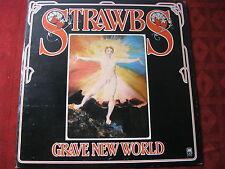 LP STRAWBS Grave New World US Pressing A & M SP 4344 NEAR MINT !!!