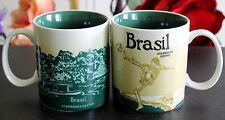 New Starbucks Coffee Mug Collector Series Brasil City Mugs 16oz