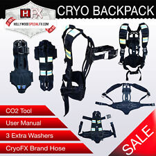 Cryo Backpack -CO2 Cylinder Backpack Jet Special Effects Event CO2 Cannon BP