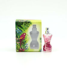 Jean Paul Gaultier Classique Summer Edt 3.5ml  Perfume Miniature Women JPG New